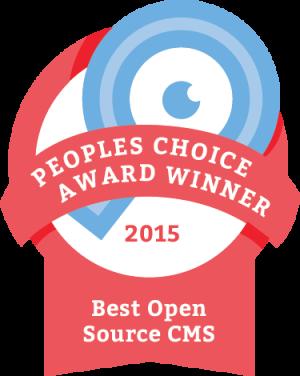 2015 best open source cms award winner - django CMS